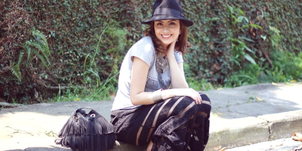 como-usar-saia-longa-look-chapéu-hat-vanduarte-capa