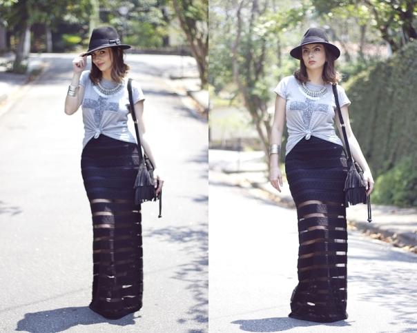 como-usar-saia-longa-look-chapéu-hat-vanduarte-raiox